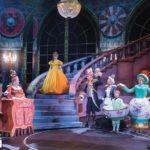 Belle et la Bête de Disney avec des Lustres